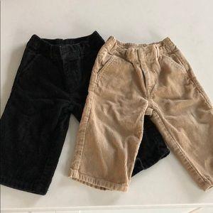 Janie and Jack corduroy pants